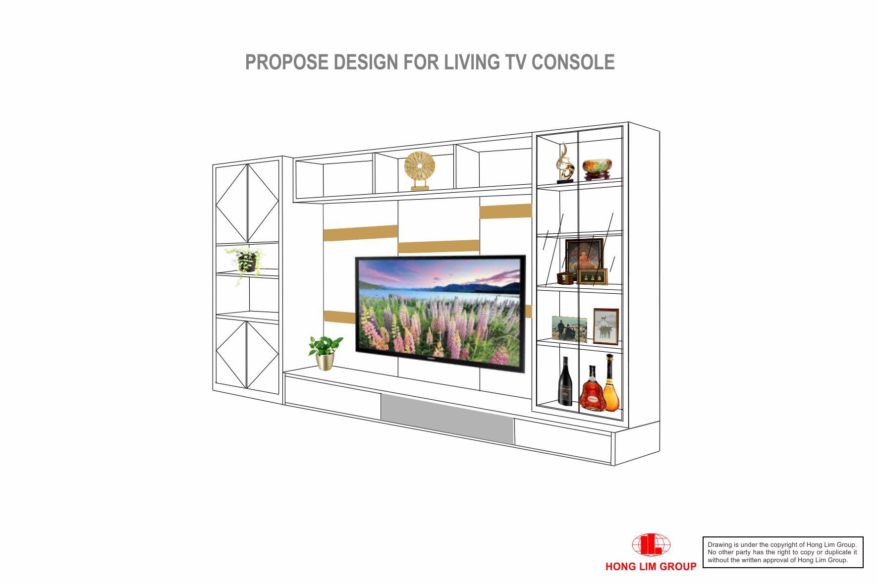 Living TV Console V2