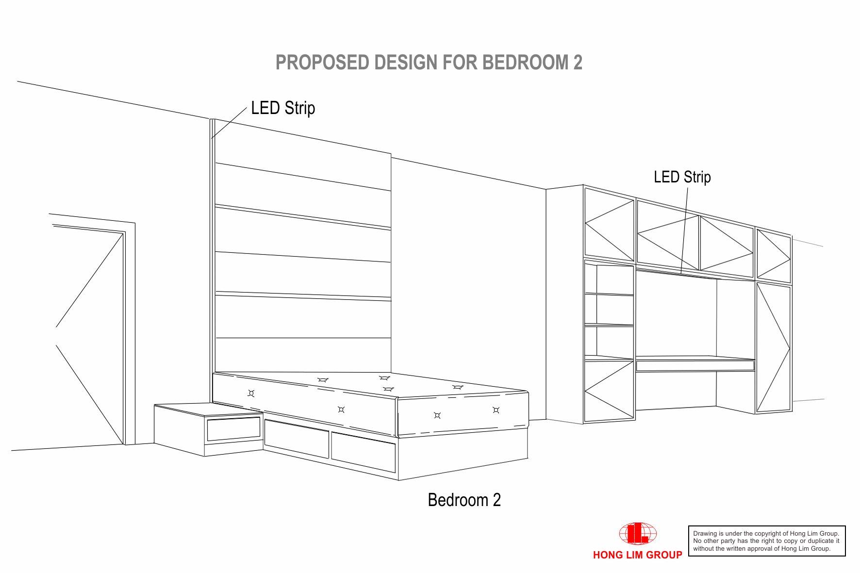 Bedroom 2 amend