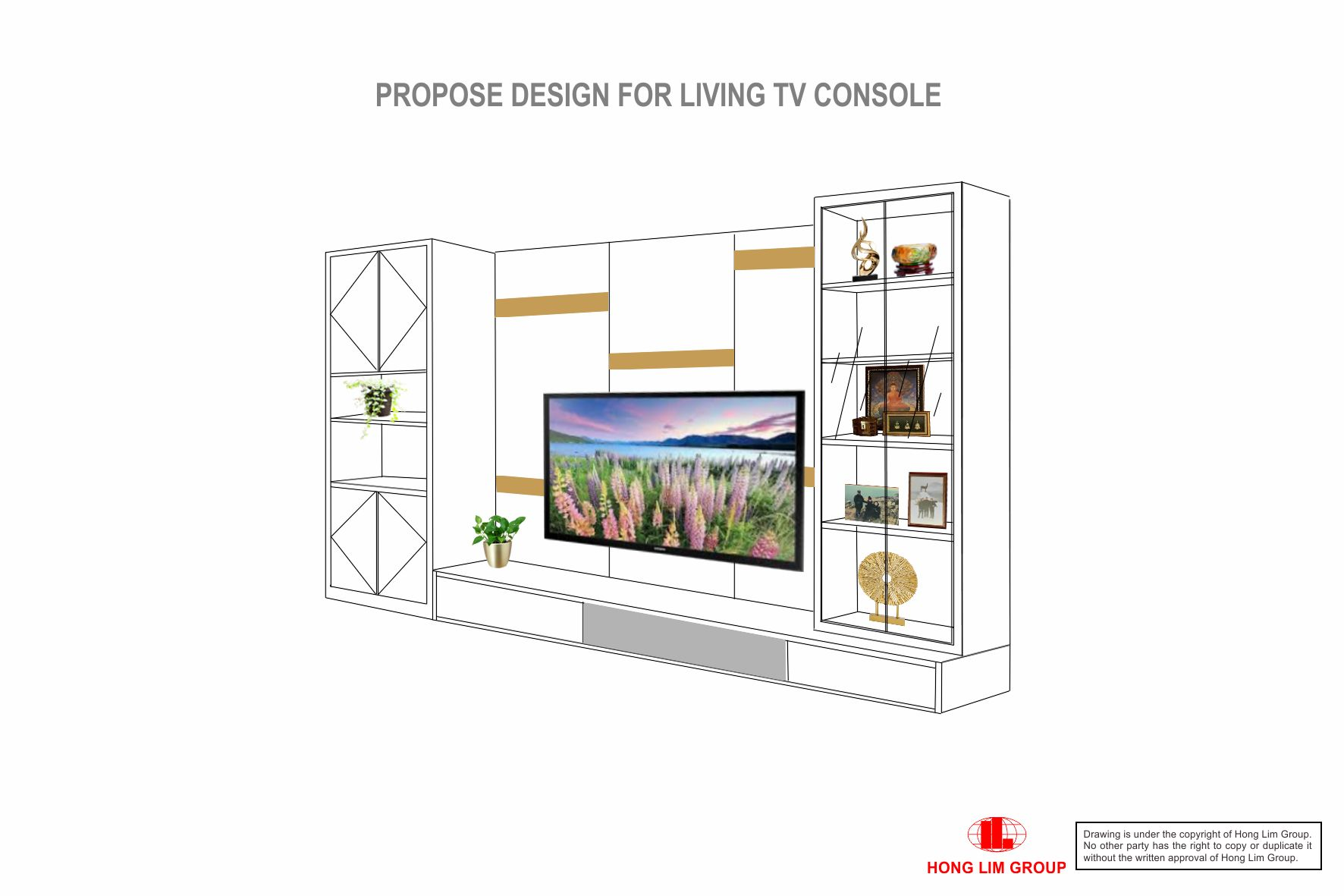 Living TV Console