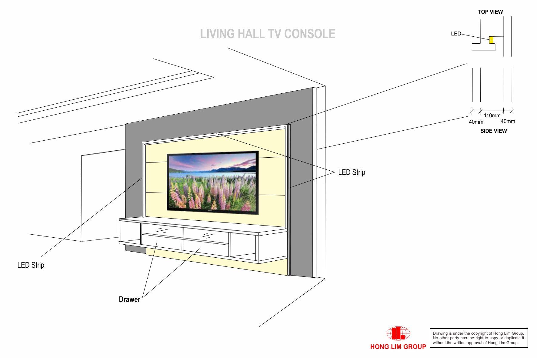 TV Console New V7