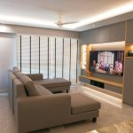 Living TV Console 2